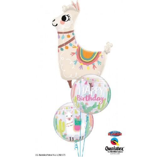 Prikupna Lama - folija balon