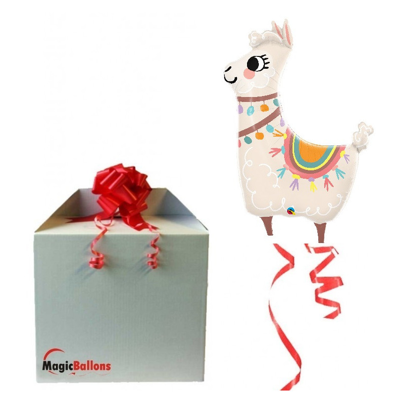 Loveable Lama - foil balloon