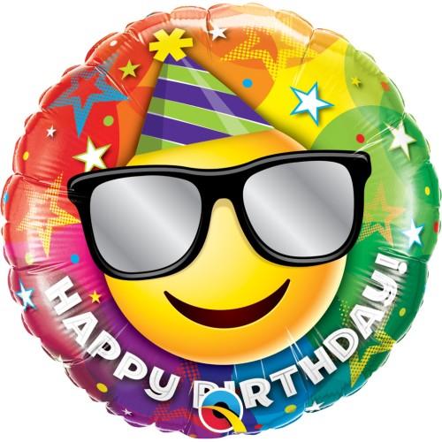 Birthday Smiley - mini folija balon