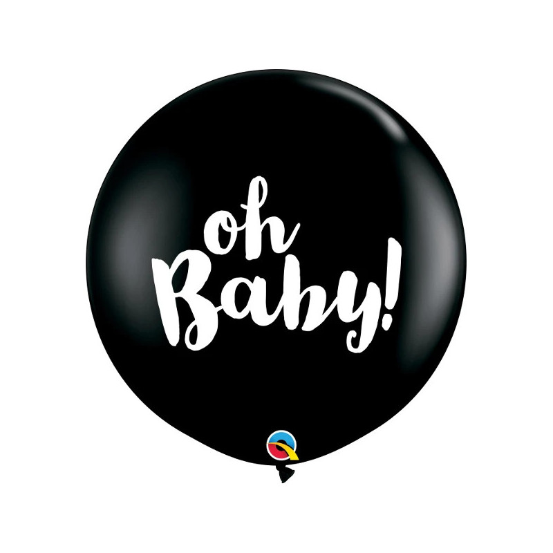 Giant balloon - oh Baby!