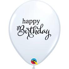 Happy Birthday - latex balloons