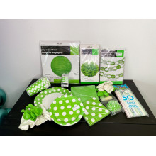 GREEN PARTY SET + GIFT