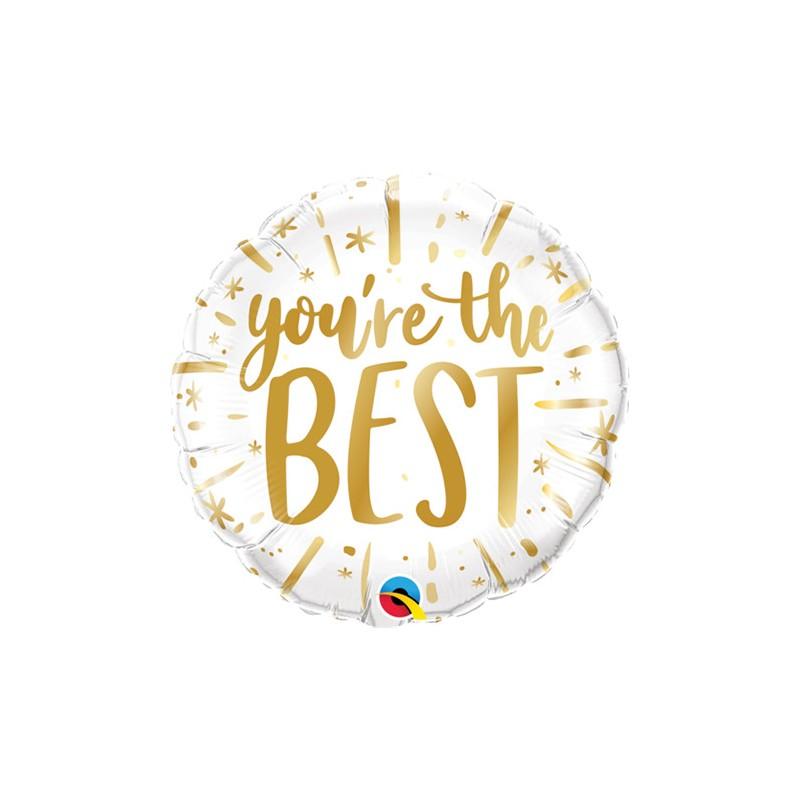 """you're the BEST"" - folija balon"