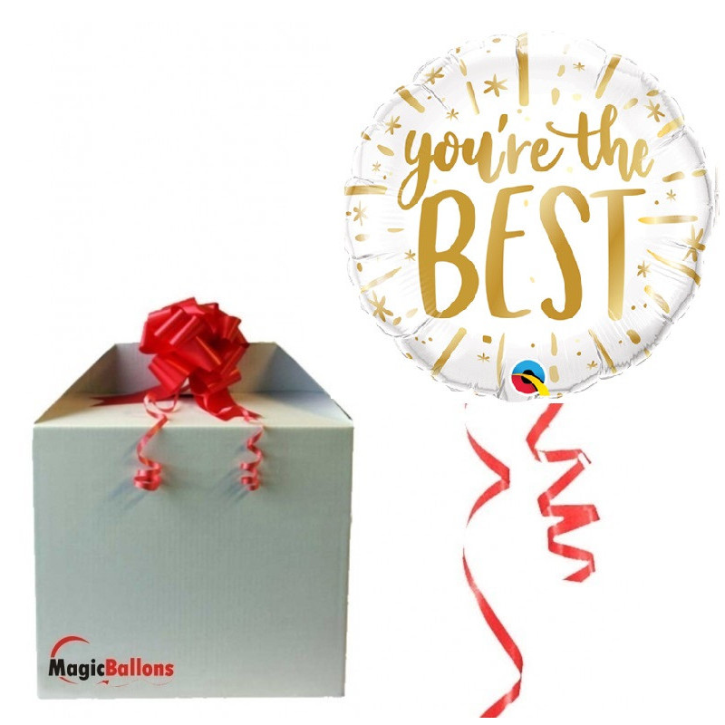 """you're the BEST"" - Folienballon"