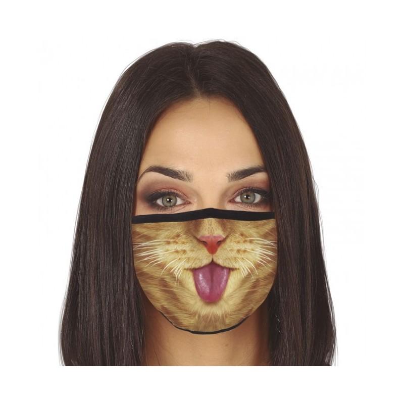 Three-layer washing mask - Cat