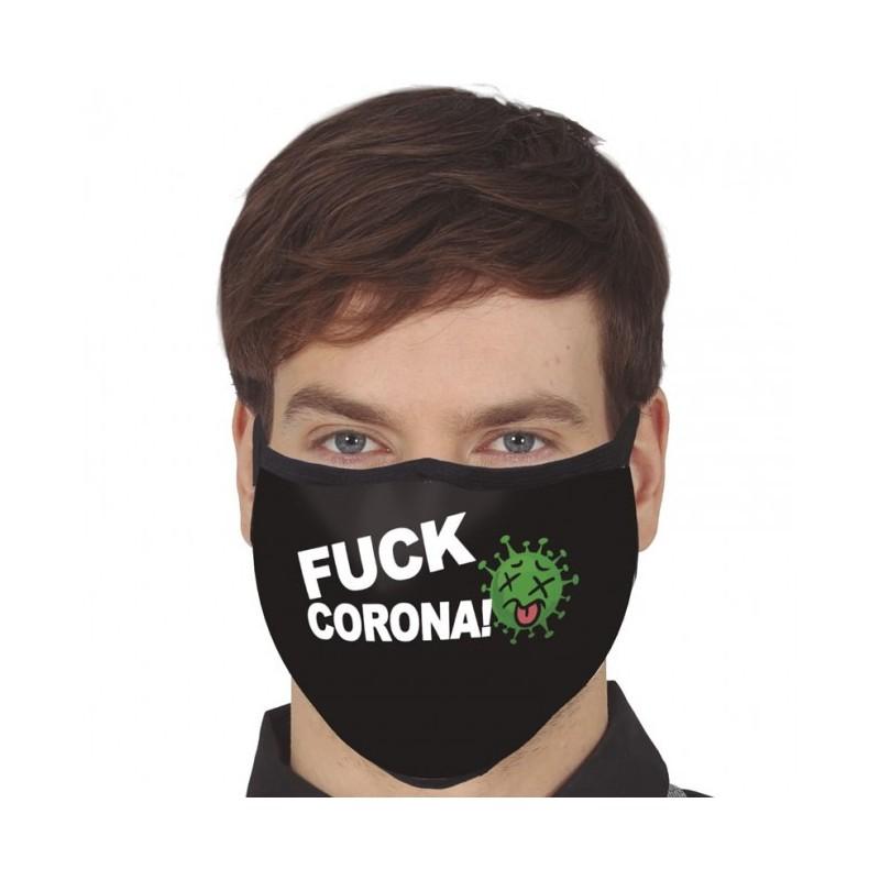 Three-layer washing mask - FUCK CORONA!