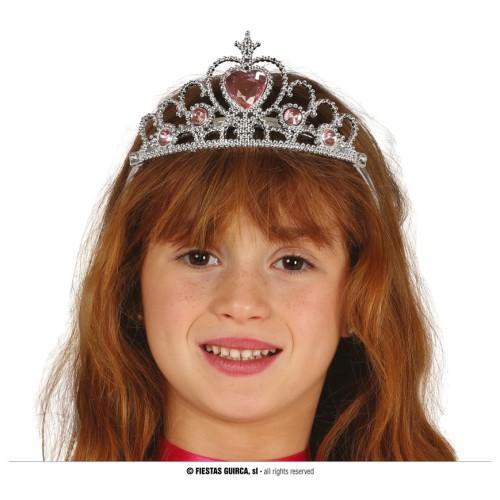 Silber tiara