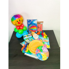BALLOONS PARTY SET + GIFT