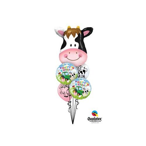 Birthday Barnyard - folija balon