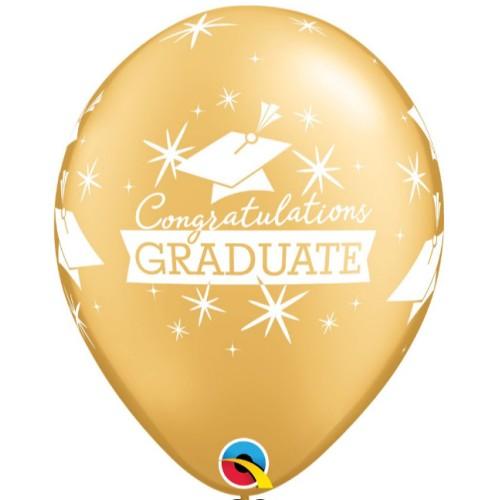 Congratulations Graduate - latex balloons