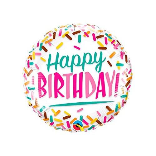 Happy Birthday Sprinkles - Folienballon