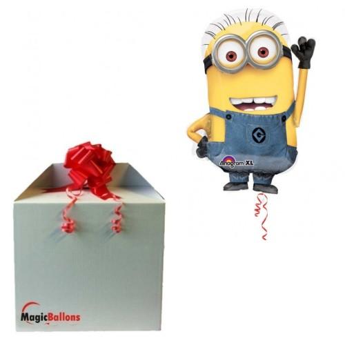 Minion - Folienballon in Paket