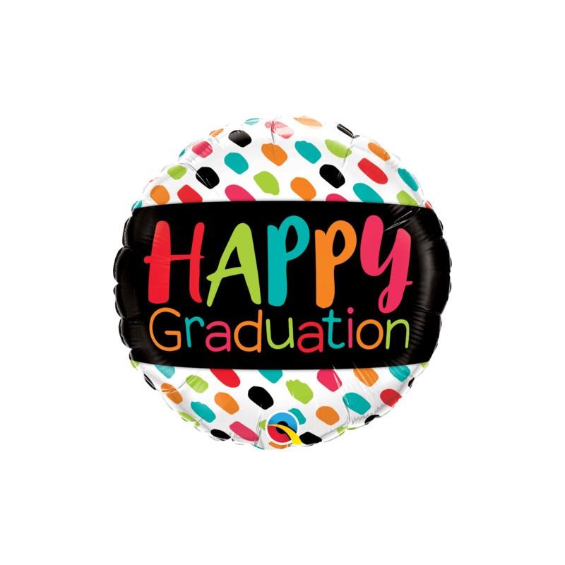 Happy Graduation - foil balloon