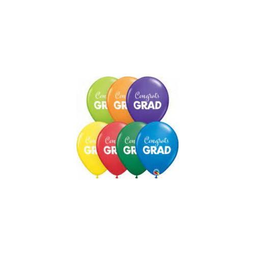 Lateks baloni 28 cm - Congrats Grad