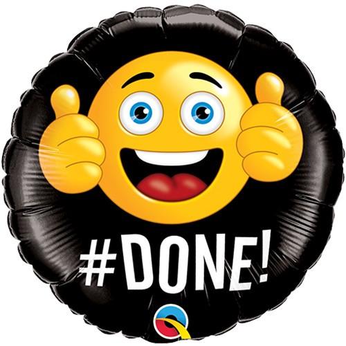 #DONE - mini foil balloon