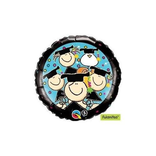 Graduation - mini foil balloon