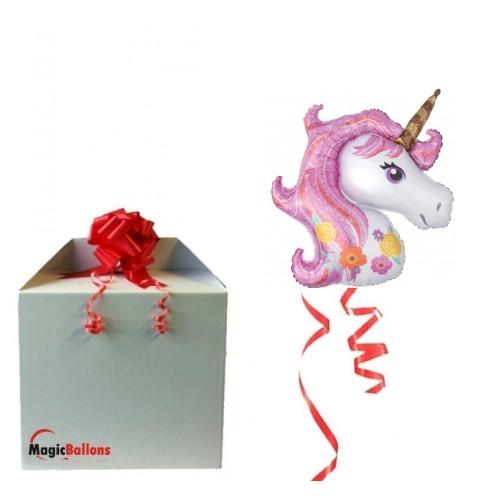 Unicorn - Folienballon In Paket