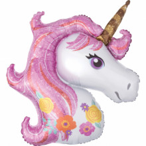 Unicorn - foil balloon in paket