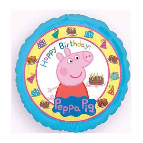 """Pujsa Pepa """"Happy Birthday"""" - folija balon"""