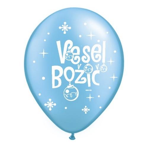 Balon Vesel Božič - P. Azure