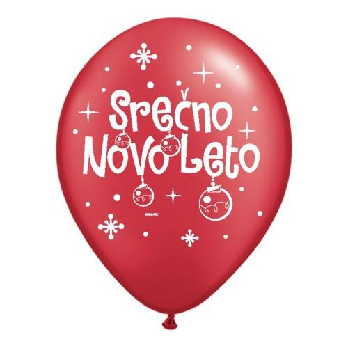 Balloon - Serčno Novo Leto - P. RRed