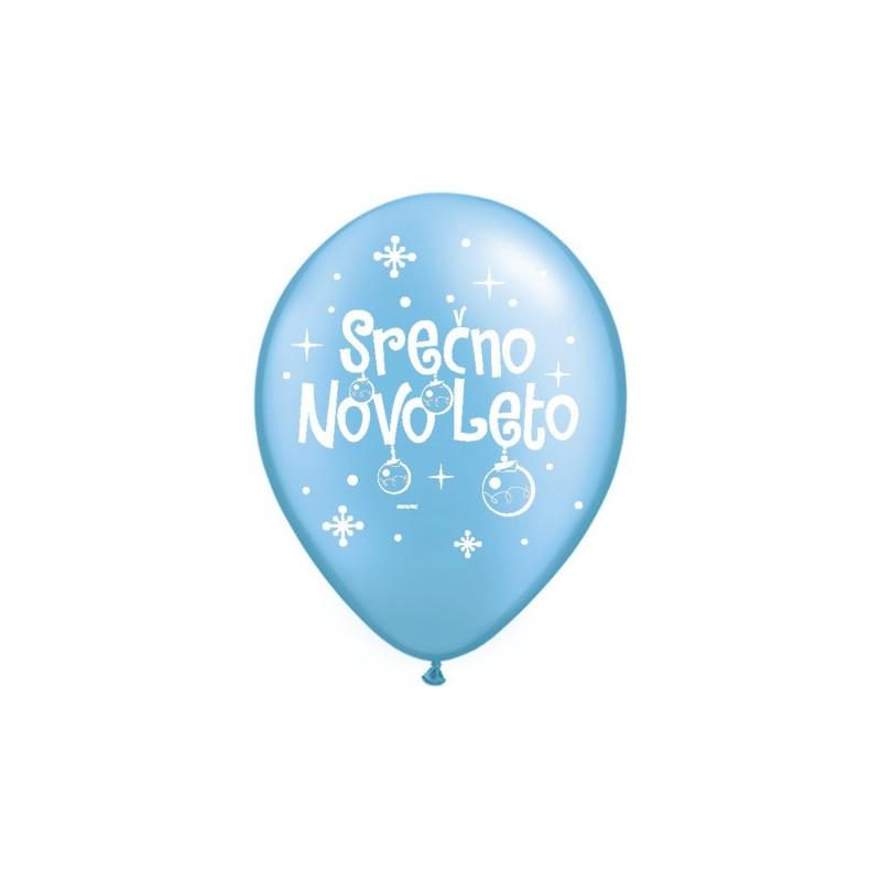 Balon Serčno Novo Leto - P. Azure