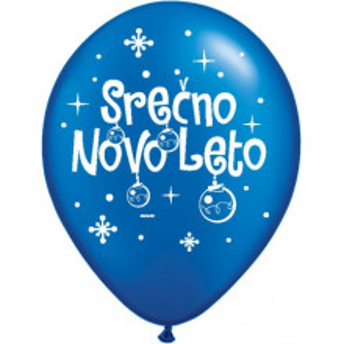 Balloon - Serčno Novo Leto - P. SBlue