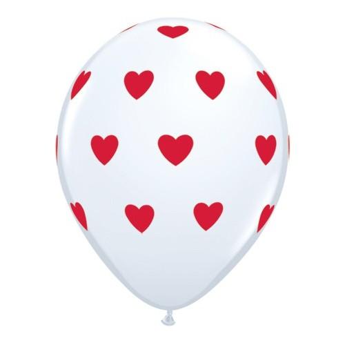 Big hearts-rdeč
