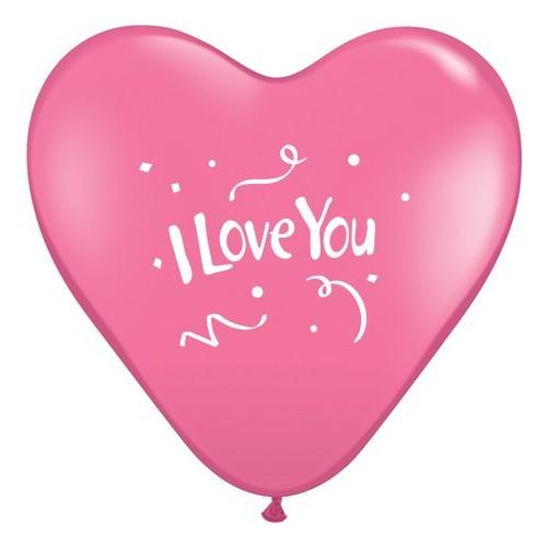 I love You Confetti-Red
