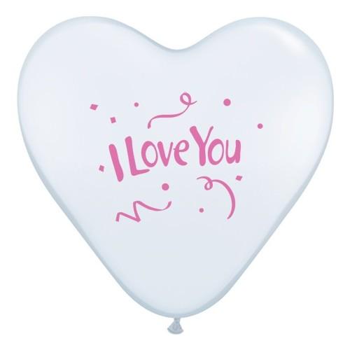 I love You Confetti-Rose