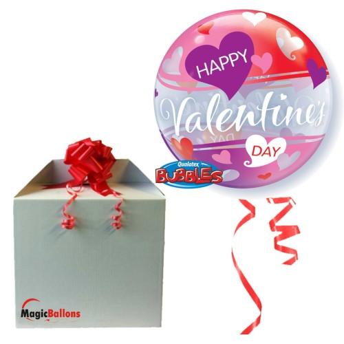Valentine's Red & Pink Hearts - napihnjen