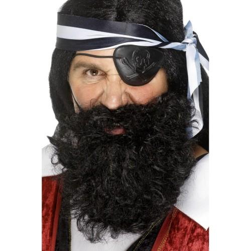 Pirate -brada in brki