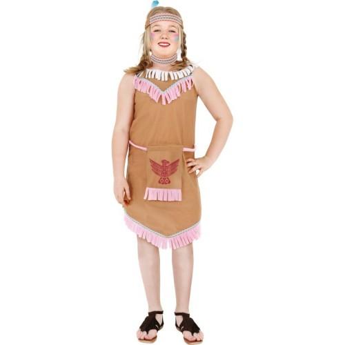Indijanka otroški kostum