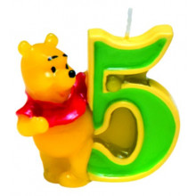 Candle Winnie the Pooh-4