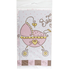 Baby Joy tablecover-pink