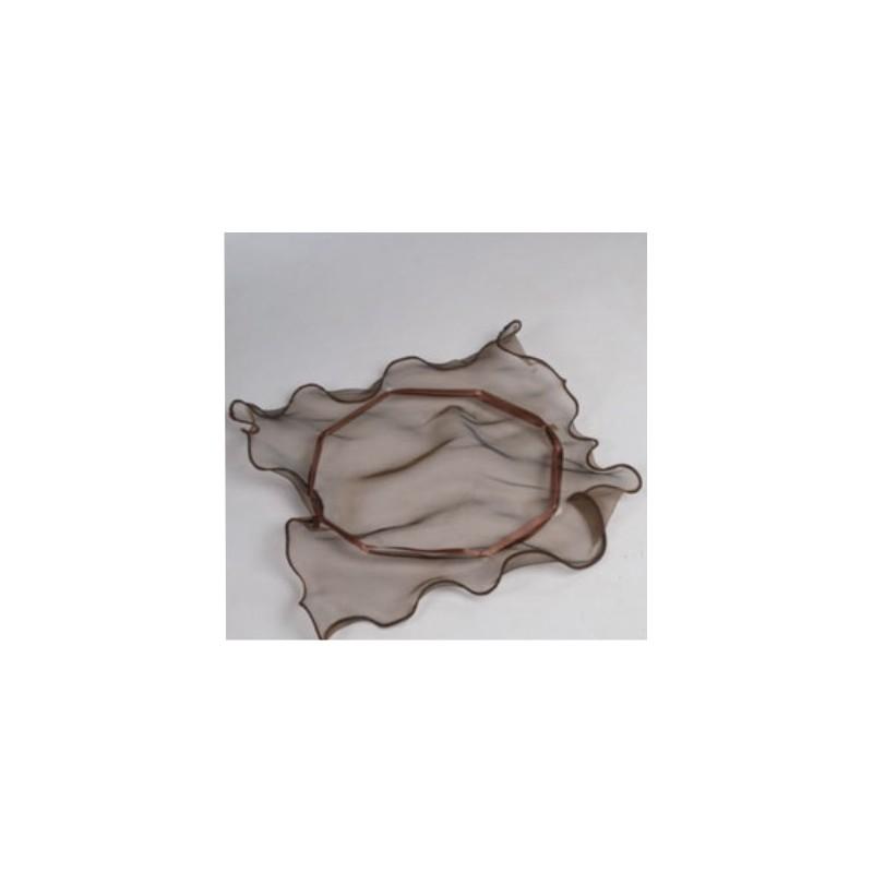 Organza mošnjiček-srebrn