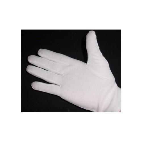 Santa gloves white
