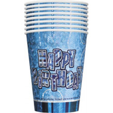 Glitz party -pink cups