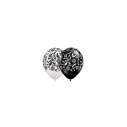 Balon Damask print