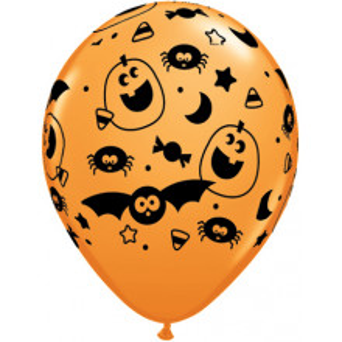 Balon tiskan z netopirji