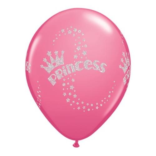 Balon glitter Princess