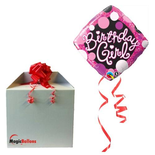 Balloon  Birthday Elegant Damask
