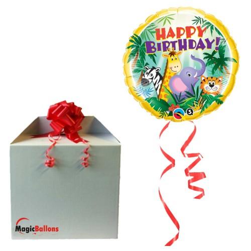Birthday Jungle Friends - folija balon