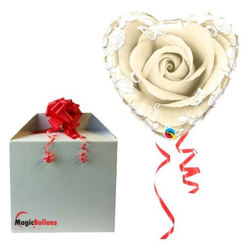 Crystal Roses & Flowers Silver - napihnjen