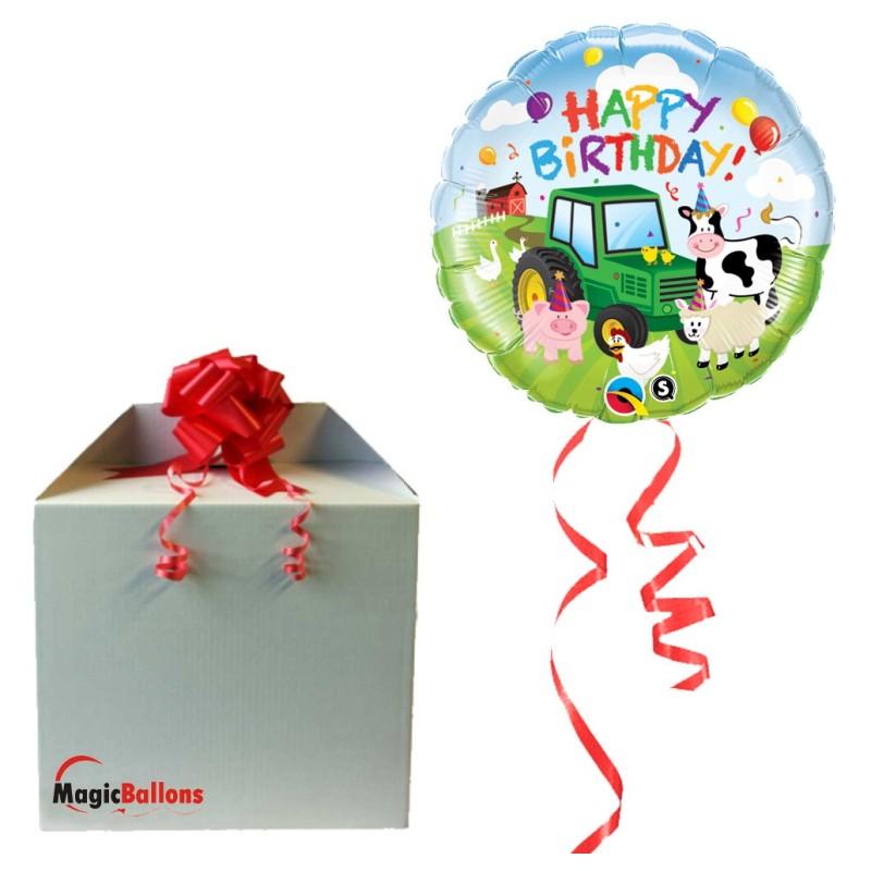 Birthday Barnyard - foil balloon