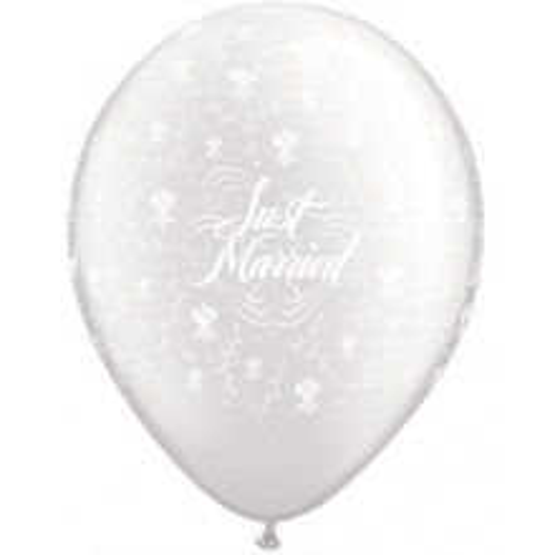 Just Married Pearl Lavender