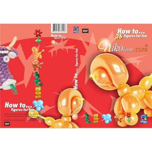 DVD - 26 Modellierballon Figuren