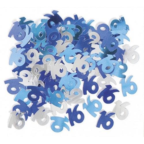 Konfetki - Happy Birthday blue