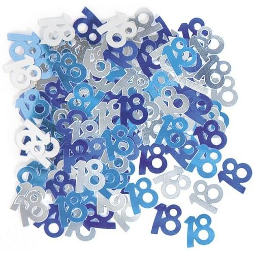 Konfetki - 30  blue
