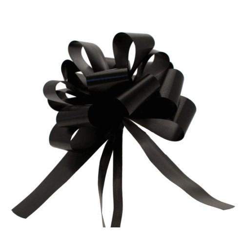 Pull bow black 3cm
